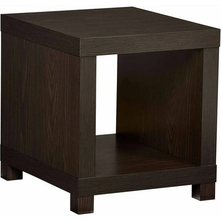 Better Homes & Gardens Accent Table, Multiple - Storage Espresso End Tables