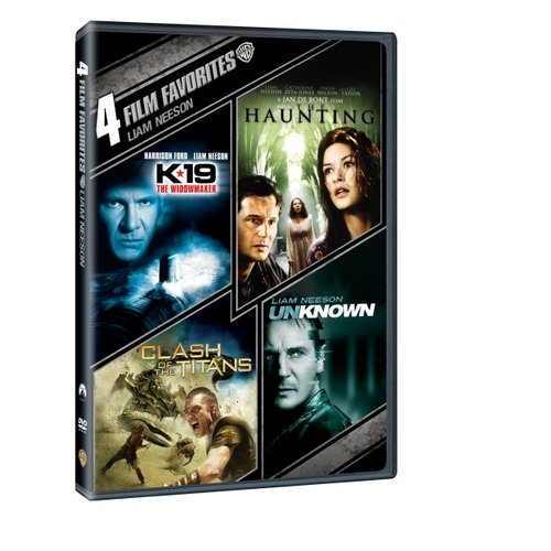 4 Film Favorites: Liam Neeson - K-19 The Widowmaker / The Haunting / Clash Of The Titans / Unknown (Widescreen)