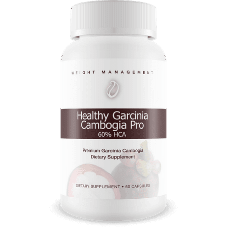 Healthy Garcinia Cambogia Pro- 60% HCA- Max Strength - Natural Weight Loss Supplements - Carb Blocker & Appetite Suppressant - All Natural Diet Pills for Women & Men - 60