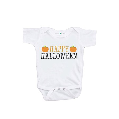 Custom Party Shop Baby's Happy Halloween Onepiece - 0-3 Month Onepiece