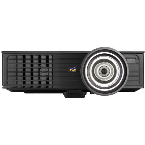ViewSonic PJD6383S XGA 1024x768 DLP Projector, 3000 ANSI Lumens, 15,000:1 Contrast Ratio, 120Hz/3D-Ready��- Black