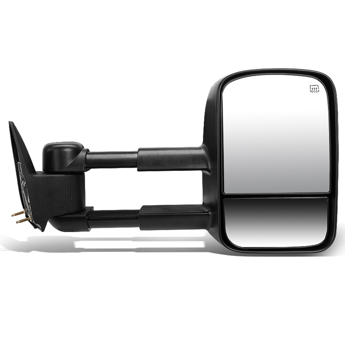 For 2003-2007 Chevy Silverado/GMC Sierra Powered Adjustment+Heated Tow Towing Mirror (Right/Passenger)