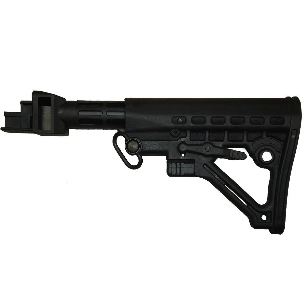 Ak 47 80 receiver - Tactical Black Stock Kit For Ak 47 Ak47 Ak 74 7 62x39 Stamped Receiver