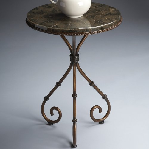 Butler Accent Table, Metalworks - 7043025