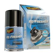 Meguiar's G16602 Whole Car Air Re-Fresher Odor Eliminator – Sweet Summer Breeze Scent, 2 oz