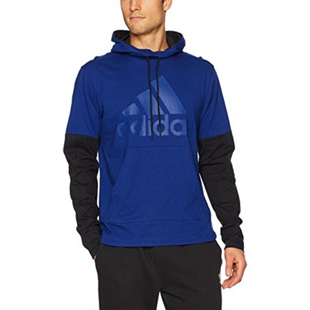 ... adidas Men's Athletics Sport Id Jersey Pullover Hoody, Mystery Ink/Black/Mystery  Ink