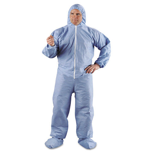 Kimberly-Clark Professional Kleenguard A65 Hood & Boot Flame-Resistant Coveralls, Blue,... by KIMBERLY-CLARK