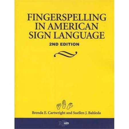 Fingerspelling In American Sign Language By Brenda Cartwright