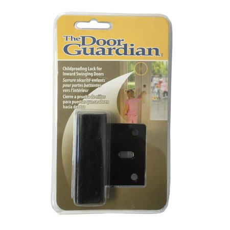 Childproof Deadbolt For Inward Swinging Doors Black Finish For In