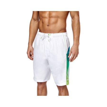 e8f1191f92 Speedo Mens Ombre Splice Volley Swim Bottom Board Shorts white S - image 1  of 1 ...