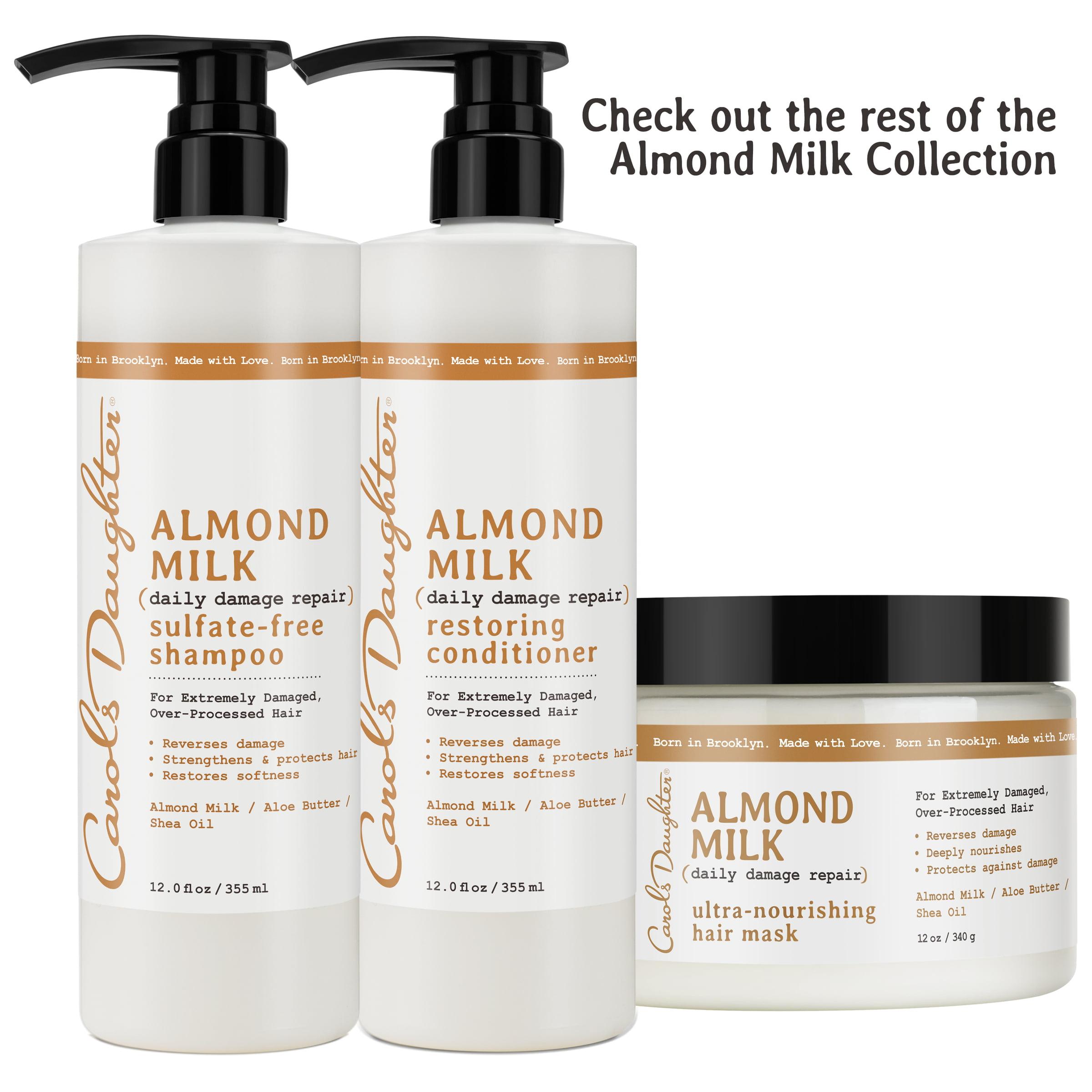 2fc66fdb1b Carol s Daughter Almond Milk Ultra-Nourishing Hair Mask 12 OZ - Walmart.com