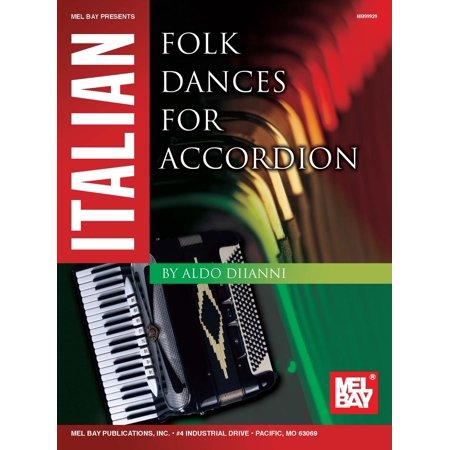 - Italian Folk Dances for Accordion - eBook