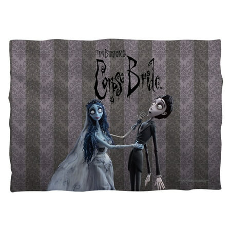 Corpse Bride Cosplay (Corpse Bride Bride And Groom Poly 20X28 Pillow Case White One)