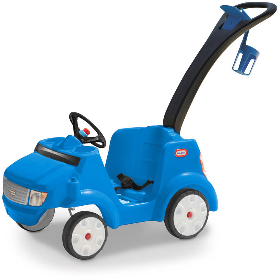 Little Tikes 2-in-1 Quiet Drive Buggy, Blue by Little Tikes