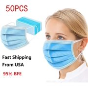 Disposable 3-Ply with Earloop for Personal use face mask (50 pcs)non medical