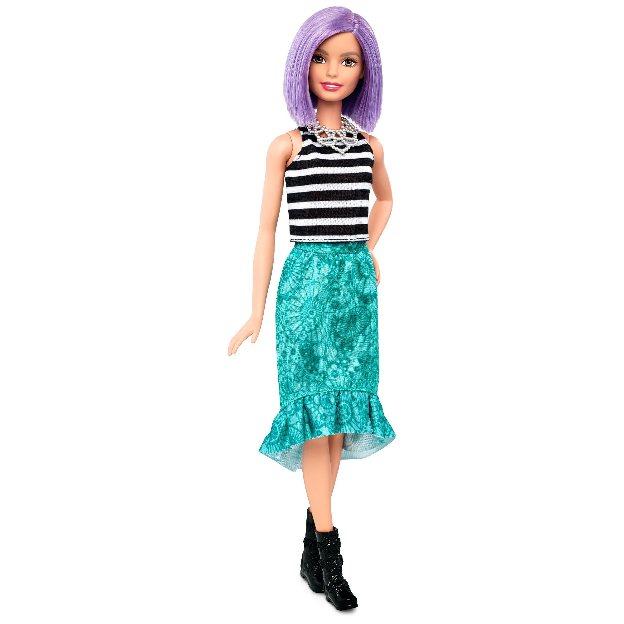 Barbie Fashionistas Doll 51 Polka Dot Fun Walmart Com