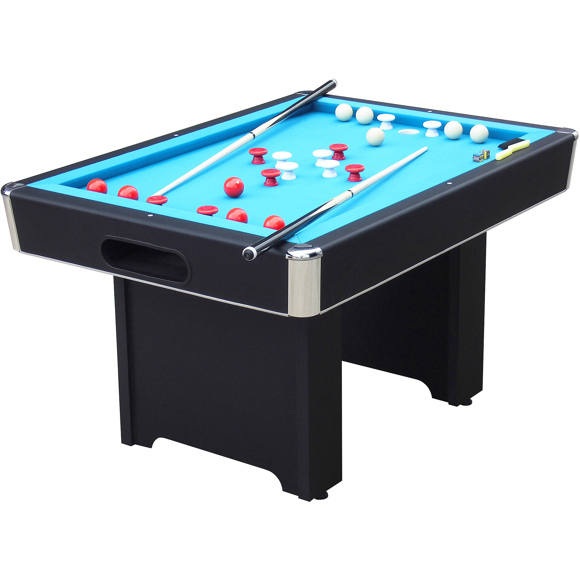 Playcraft Hartford Slate Black Bumper 4.5' Pool Table - Walmart