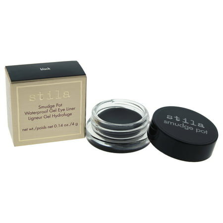 Smudge Pots Waterproof Gel Eye Liner   Black By Stila For Women   0.14 Oz Eyeliner by Stila