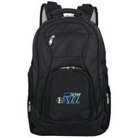 "Utah Jazz 19"" Laptop Travel Backpack - Black - No Size"
