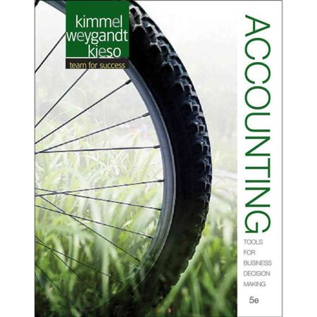 Accounting: Tools for Business Decision Making by