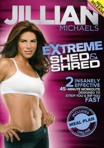 JILLIAN MICHAELS-EXTREME SHED & SHRED (DVD) (DVD) by Fit For Life Llc