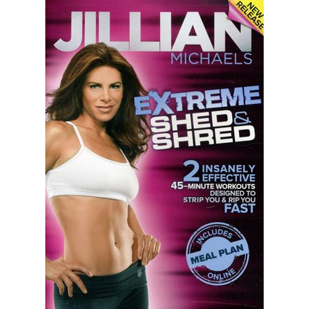 JILLIAN MICHAELS-EXTREME SHED & SHRED (DVD) (DVD)
