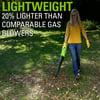 Greenworks 40V 12 in. Cordless String Trimmer & 390 CFM Leaf Blower Combo Pack with 2.0 Ah Battery & Charger, STBA40B210