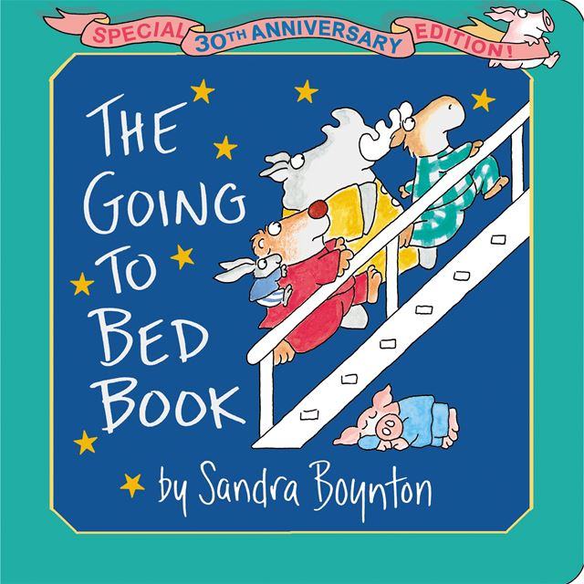 The Going To Bed Book by Sandra Boynton - Anniversary Edition