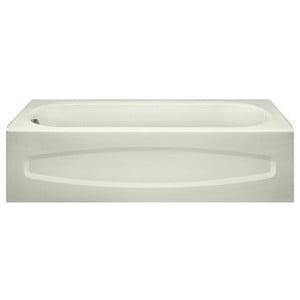 American Standard 5' Alcove Bathtub White Salem Left Hand Drain