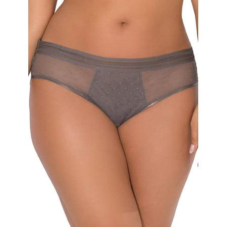 5fe113ac7 Smart   Sexy - Women s Lace   Swiss Dot High-Waist Bikini Panty ...