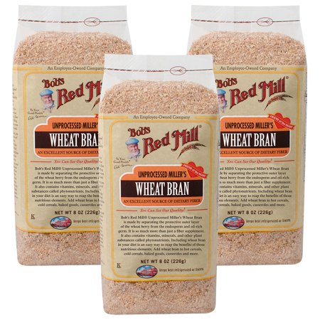 Soluble Rice Bran - (12 Pack) Bobs Red Mill Wheat Bran, 8 oz