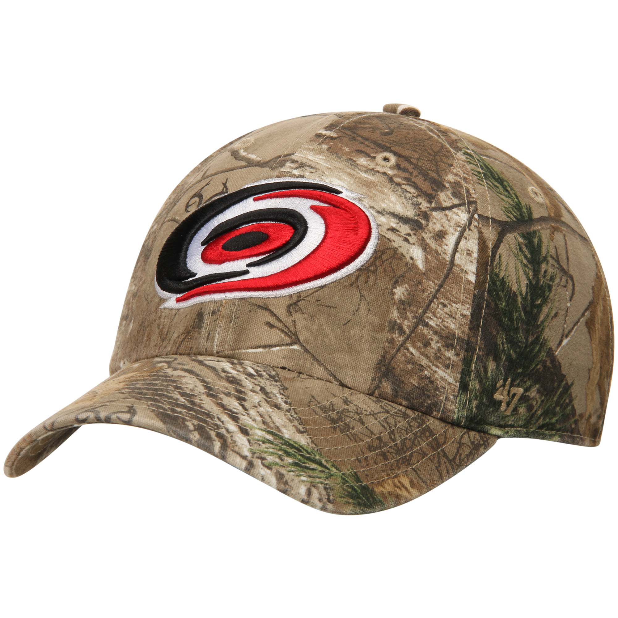 Carolina Hurricanes '47 Real Tree Clean Up Adjustable Hat - Camo - OSFA