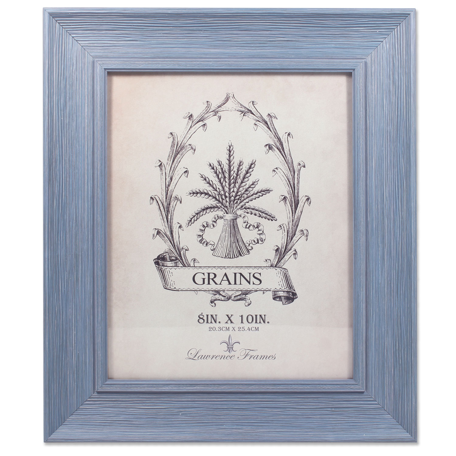 8x10 Weathered Lapis Picture Frame by Lawrence Frames