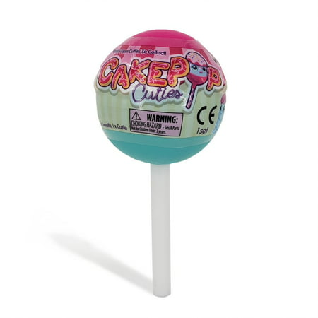 CakePop Cuties - CakePop Capsule Single Pack - Slow Foam Squishies - Ages 4+.
