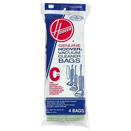 Hoover Type C Vacuum Bag 4 Bags