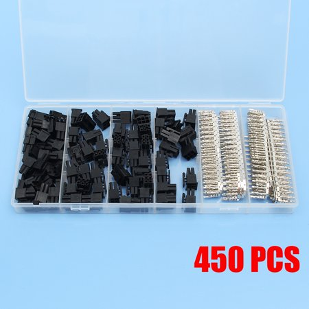 50Pcs 5557 8(6+2) Pin PCI-E ATX EPS Connector & 400 Female Terminals Crimp Plug - image 7 de 7