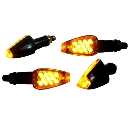 4X Turn Signal Oz Usa  Led Honda Dual Sport Motorcycle Dirt Bike Supermoto Light Blinker
