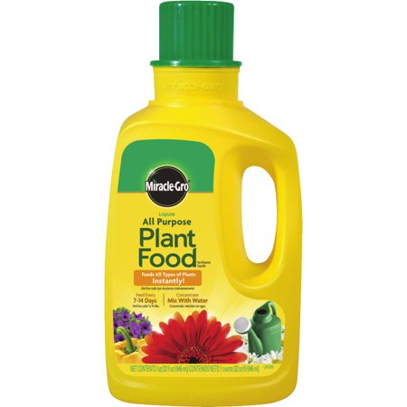 Miracle-Gro Liquid All Purpose Plant Food, 32oz