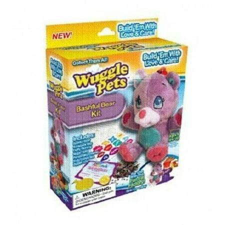 Wuggle Pet As Seen On TV Bashful Bear Kit (Hide A Pet As Seen On Tv)