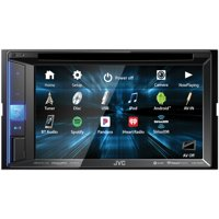 """JVC Mobile KW-V25BT 6.2"""" Double-Din In-Dash DVD Receiver With Bluetooth & SiriusXM Ready"""