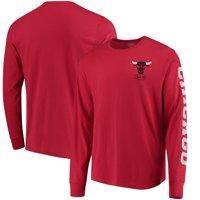Chicago Bulls '47 Rundown Long Sleeve T-Shirt - Red