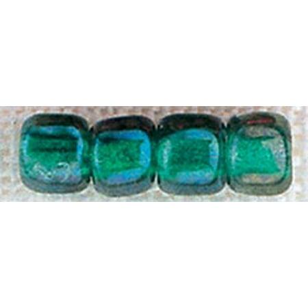 - Mill Hill Glass Pebble Beads 5.5mm 30/Pkg-Bottle Green