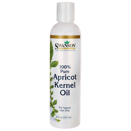 Swanson 100% Pure Apricot Kernel Oil 8 fl oz Liquid Natural Spa Apricot