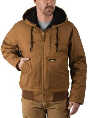 Walls Men's Insulated Flex Duck Hooded Jacket