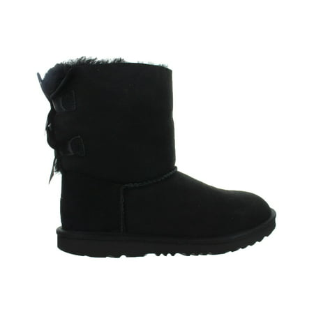 kids ugg bailey bow ii boot black 1017394k-blk - Light Blue Uggs With Bows