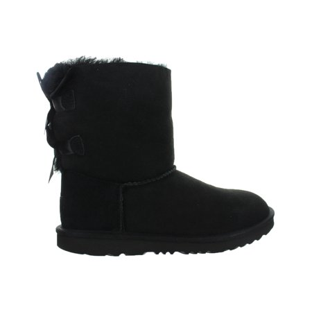 kids ugg bailey bow ii boot black 1017394k-blk (Big Kid Uggs On Sale)