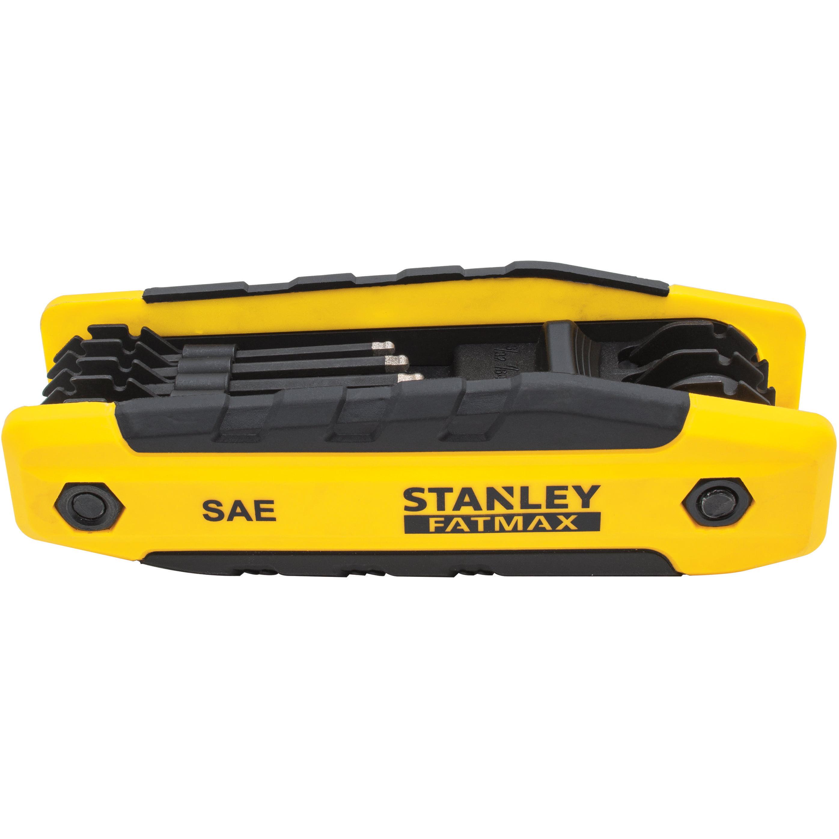 STANLEY FatMax FMHT80764 Diamond Folding Hex Key (SAE)