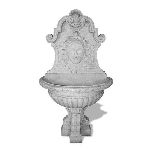 Amedeo Design ResinStone Asian Wall Fountain
