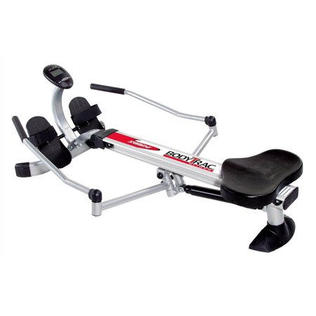 - Body Trac Glider w Gas Shock Resistance and Full-Range Rowing