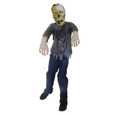 Boys Monster Child Halloween Costume Shirt, Pants & Mask](Halloween Monster Songs For Children)